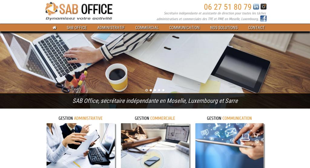 Sab Office ancien-site-web