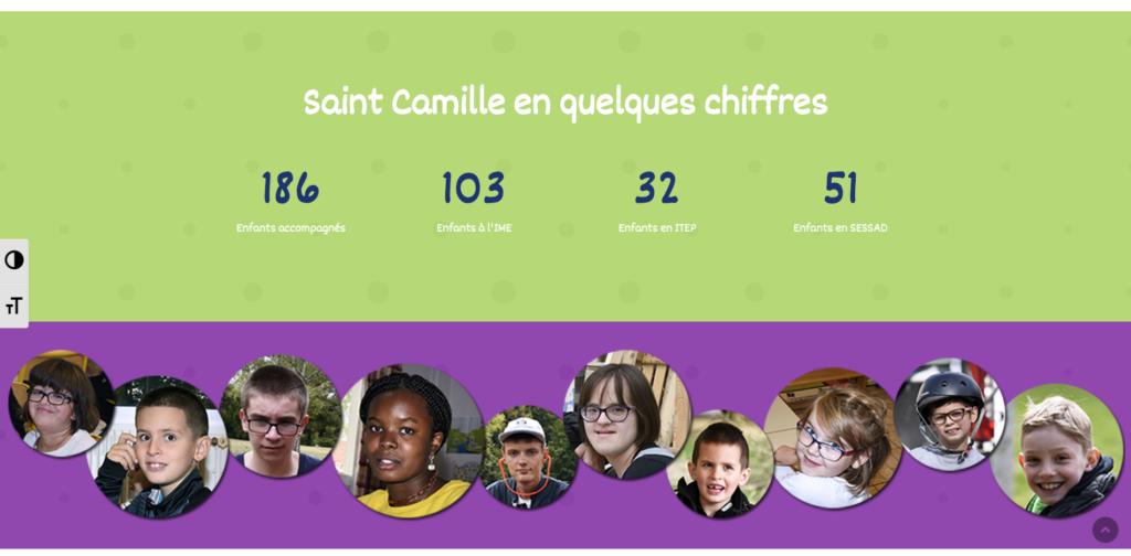 Saint Camille Accueil chiffres clés